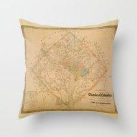 Civil War Washington D.C… Throw Pillow