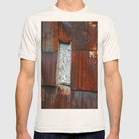 Red Barn Mens Fitted Tee Natural SMALL