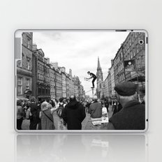 Edinburgh stuntman Laptop & iPad Skin