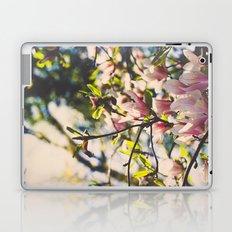 Magnolias in spring Laptop & iPad Skin