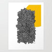 - burn - Art Print