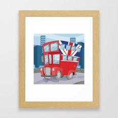 BUS (GROUND VEHICLES) Framed Art Print