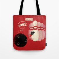 Strike! Tote Bag