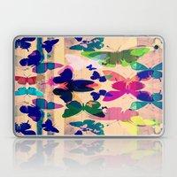 Butterflies on board Laptop & iPad Skin