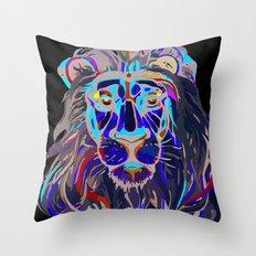 The Lion  Throw Pillow