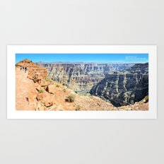 Grand Canyon West Panorama II Art Print