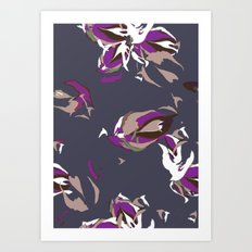 Pale Violette Art Print