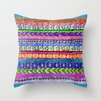 Peru Stripe II Throw Pillow