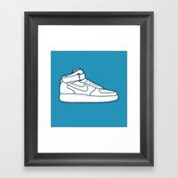 #13 Nike Airforce 1 Framed Art Print