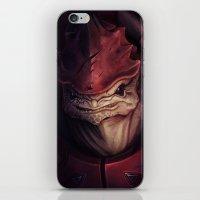 Mass Effect: Urdnot Wrex iPhone & iPod Skin