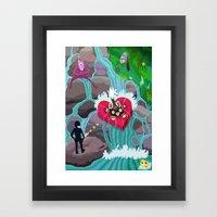 STELA INIZO-XUA Framed Art Print