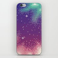 Rainbow Nebula (8bit) iPhone & iPod Skin