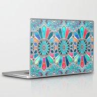 Iridescent Watercolor Br… Laptop & iPad Skin
