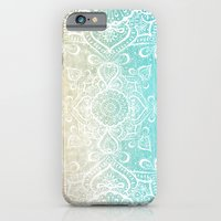 iPhone Cases featuring Beach Mandala by Jenndalyn