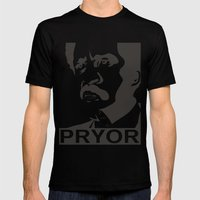 Richard Pryor Mens Fitted Tee Black SMALL
