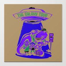Galaxy Tour Canvas Print