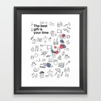 The Best Gift Is You Tim… Framed Art Print