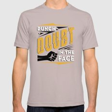 Punch Doubt in the Face! Cinder SMALL Mens Fitted Tee