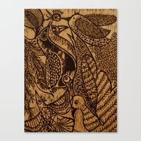 Birds (1) Canvas Print