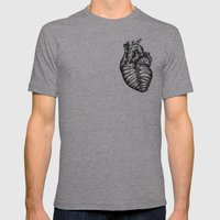 Heart gone wild Mens Fitted Tee Athletic Grey SMALL