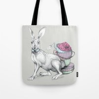 Tea With Hatter Tote Bag