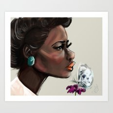 Beautiful 2 Art Print