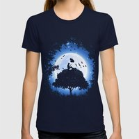 For Every Wish I Had Womens Fitted Tee Navy SMALL