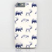 Wild Pattern // Blue iPhone 6 Slim Case