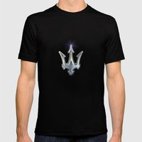Maserati Mens Fitted Tee Black SMALL