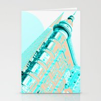 san francisco Stationery Cards featuring San Francisco by DM Davis