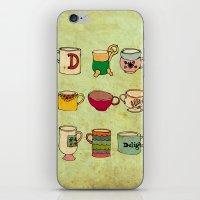 My Mugs! iPhone & iPod Skin