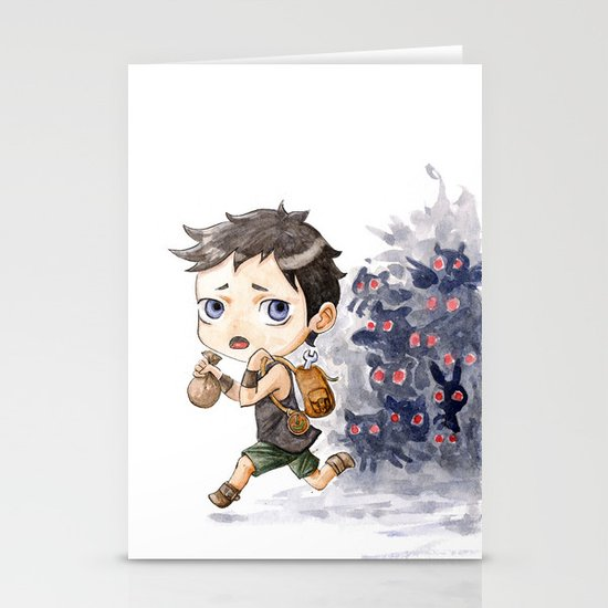 Loot Stationery Card
