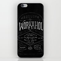 WORKAHOL iPhone & iPod Skin