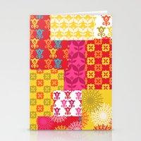 Happy Retro Mix 1 Stationery Cards
