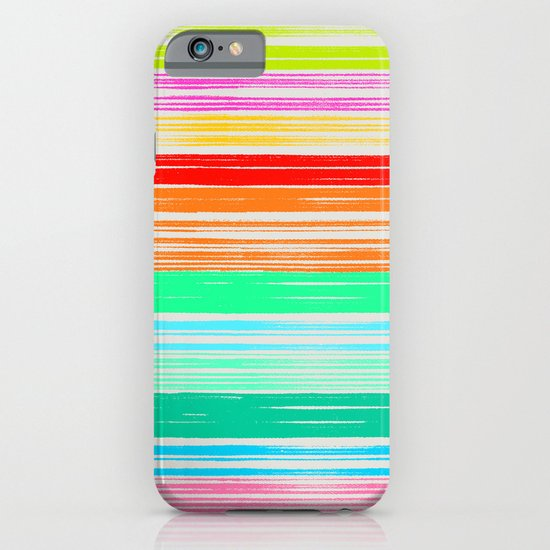 Waves_Multicolor2 iPhone & iPod Case