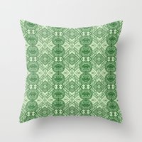 Money Talks Throw Pillow