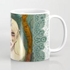snakes and sunflower girl Mug