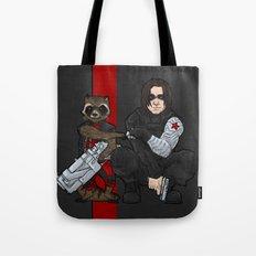 Marvellous Raccoons Tote Bag
