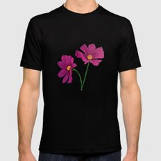 Gift of spring Mens Fitted Tee Black SMALL