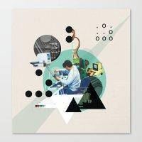 Hackers Canvas Print