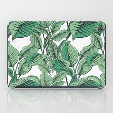 Exotic Tropical Banana Palm Leaf Print iPad Case
