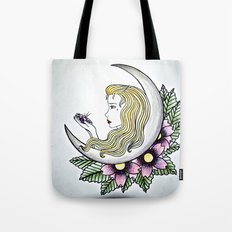 Dirty - Moon Tote Bag