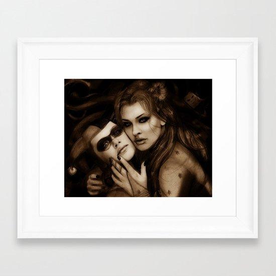 Gotham Sirens Framed Art Print