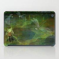 Frog on his Rock iPad Case