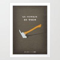Breaking Bad - One Minut… Art Print