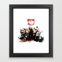 Polish Power Framed Art Print