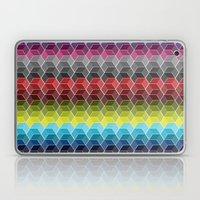 Hexagon Shades / Pattern #6 Laptop & iPad Skin