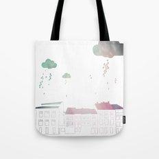 Ongi Etorri, rain Tote Bag