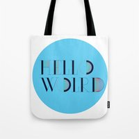 Hello World | Comp Sci S… Tote Bag