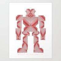 Jaeger //: Pixel Art Print